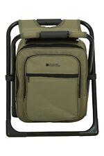 Mountain Warehouse Folding Stool Detachable Cool Bag Camping Fishing Portable