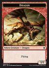 MRM English Token Dragon 5/5 MTG magic BFZ