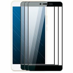 3x Display Schutzglas Xiaomi Mi Max 1 - Full Cover Schutz Folie Glasfolie S