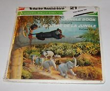 1966 ViewMaster B363-C Disney Jungle Book Canada Edition French / English - RARE