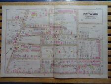 1899 Map of Philadelphia - Rare - 22nd Ward - Germantown Ave to Morton St.