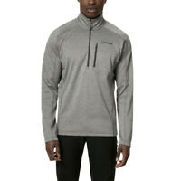 Berghaus Mens Spitzer Half Zip Top - Grey Sports Outdoors Warm Breathable