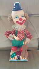 Mr Bob The Violinist Dancing Clown Battery Operated Vintage Circus World