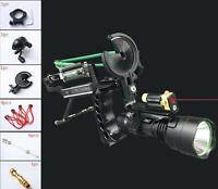 Fishing Reel Slingshot Archery Slingbow Hunting Fish Arrows Laer Wrist Catapult
