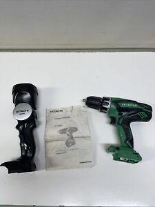 HITACHI DV18DGL 18v Li-ion Hammer Drill Driver & 18v Torch UB18DAL Body Only