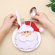 Weihnachtsmann Besteck Tasche Messer Gabel Bag  Abdeckung für Weihnachts Pop.