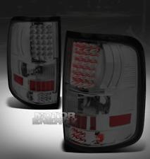 04-08 FORD F-150 PICKUP TRUCK STYLESIDE LED TAIL BRAKE LIGHTS SMOKE LENS XLT XTR