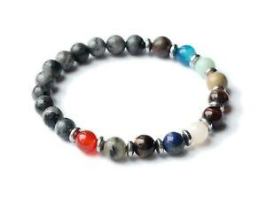 SOLAR SYSTEM | Gemstone Bracelet, Empath, Protection, Crystal, Natural Healing