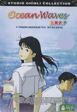 DVD Ocean Waves A Hayao Miyazaki Film ( 2 DUB & 4 SUB )