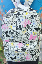 """disney minnie lotsHand-painted 15"""" backpack shoulder bag laptop bags  Big AZ21 N"""