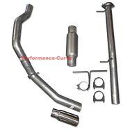"11-19 GM Silverado Sierra 2500 3500 6.0 CC-SB 3.5"" Exhaust Kit - Flo Pro Twister"