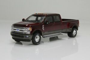 2019 Ford F-350 Dually Lariat Pickup Truck 1:64 Scale Diecast Model F350 Red