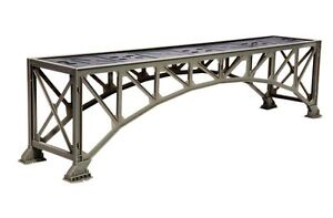 LIONEL ARCH UNDER TRAIN BRIDGE FASTRACK pier track O/O27 o gauge 6-12770 NEW