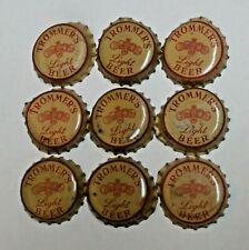 New Listing9 - Trommer'S Light - Cork Beer Bottle Caps - Brooklyn, New York