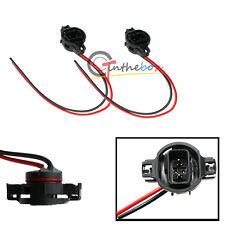 2PCS 5202 H16 Male Adapter Sockets Pigtail Harness For Fog DRL Lights Retrofit