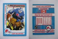 2015 SCA Clint Malarchuk Quebec Nordiques goalie never issued produced #d/10
