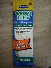 Dr Scholls Double Air-Pillo Insoles Men's 7-13 - Trim To Fit Your Size