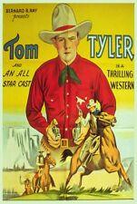 SILVER BULLET Movie POSTER 27x40 Tom Tyler Jayne Regan Lafe McKee Charles King