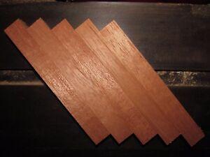 "Spanish Cedar Pen Blanks  ~  Cigar Separators   Lot of 5  ~  3/4"" X 3/4"" X 5"""