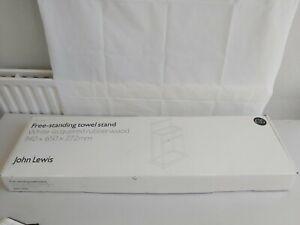 Brand New Boxed John Lewis Towel Holder Rack  B41T