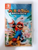 Mario Rabbids Kingdom Battle Nintendo Switch Video Game Ubisoft 2017 New Sealed