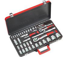 Meister 64 tlg. Werkzeugkoffer Bit Werkzeugkiste Steckschlüssel Werkzeug 8429300