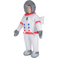 Adult Inflatable Spaceman Astronaut Fancy Dress Costume Outfit Suit Jumpsuit