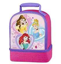 Disney Princess Lunch Bag, Cute Insulated Storage for Lunch Box New Tote Thermos