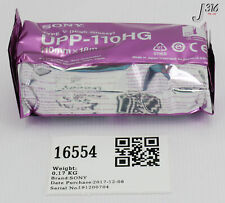 16554 SONY HIGH GLOSSY THERMAL PRINT MEDIA PAPER TYPE UPP-110HG