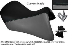 BLACK & GREY CUSTOM FITS BMW R 1200 RT FRONT SEAT COVER FOR A LOW SEAT