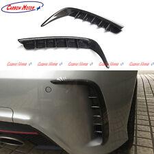 Carbon Fiber Rear Bumper Splitter Trim for Mercedes W176 A45 AMG A250 2013 14 +