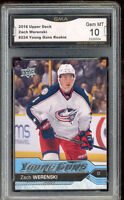 2016 Zach Werenski Upper Deck Young Guns Rookie Gem Mint #224