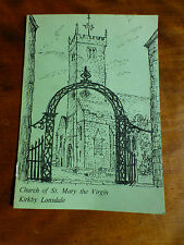 Church of ST MARY the VIRGIN KIRKBY LONSDALE Cumberland A GUIDE FOR VISITORS