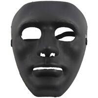 ABS Halloween Maschera Nero Z2Z8