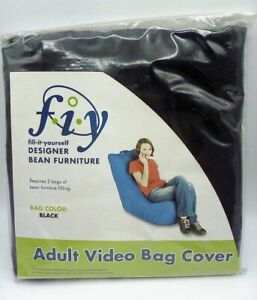 FIY Adult Size Video Bag Chair Cover