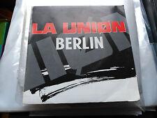 SINGLE PROMO LA UNION - BERLIN - WEA SPAIN 1992 VG+