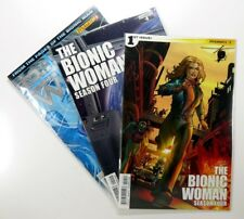 Dynamite THE BIONIC WOMAN SEASON FOUR (2014) #1 4 + (2012) #2 LOT Ships FREE!