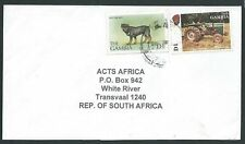 GAMBIA 2000 commercial cover with D1 ROTTWEILER Dog .......................43418