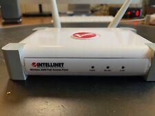 Intellinet Wireless 802.11b/g/n 300N PoE Access Point (524735 rev.1)