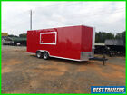 2021 rsc 8.5 x 20 concession trailer New vending red bbq food truck trailer