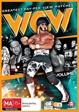 WWE: Wcw's Greatest Pay-Per-View Matches Vol. 1 NEW R4 DVD