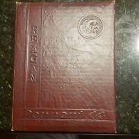 Reagan Senior High School HOUSTON TEXAS Yearbook, Pennant 1944