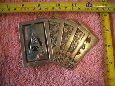 Belt Buckle. Westside CA Royal Flush Spades with Rotating Ace ;Charity