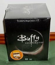BUFFY CAZAVAMPIROS 1ª-7ª TEMPORADAS SERIE COMPLETA 39 DVD NUEVO (SIN ABRIR) R2