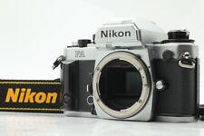 [Excellent Avec / Bracelet] Nikon FA Argent Corps 35mm SLR Caméra à Film de