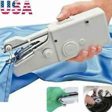 Mini Portable Stitch Portable Handheld Sewing Machine Hand Held Travel Household