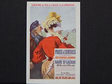 Old European Postcard, Early 20th Century Paris A Londres L'ouest Et De Brighton