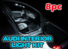 AUDI 8 PIECE INTERIOR MAP FOOT WELL LIGHT KIT Audi a6 b7 SLINE WHITE LED b6 rs4