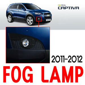 Fog Lights Lamp Assembly Left Right 2P For 11 12 Chevy Captiva