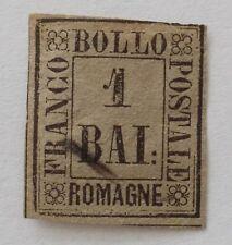 Italien, Altitalien Romagna, Bollo 1 Baj. Mi.- Nr 2  gestempelt...?!